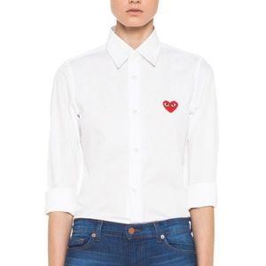 Comme des Garcons | White Button Down Shirt - E26